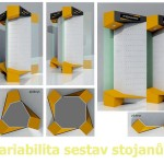 Produktové stojany Fiskars